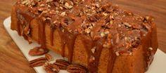Pompoencake met karamel en pecannoten | Lekker Tafelen