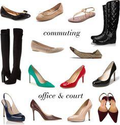 Building a Work Shoe Wardrobe