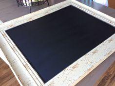 DIY: How to Turn a Mirror Into a Chalkboard - EASY Frugal DIY
