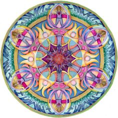 I Am Enough Mandala Imagine the difference: There is enough. We have enough. We are enough. And watch the world change.
