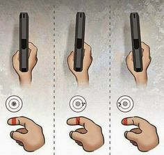 90 Miles From Tyranny : Finger Alignment On The Trigger..
