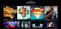 14 Portfólios Digitais de Design para te inspirar   Des1gn ON