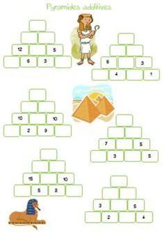 Pyramides additives Plus Math For Kids, Puzzles For Kids, Math Olympiad, Math Quotes, Math Problem Solving, Montessori Math, Math Addition, Math Problems, 2nd Grade Math
