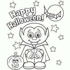 printable coloring pages halloween - Halloween Coloring Books
