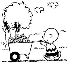 Halloween Coloring Pages Charlie Brown