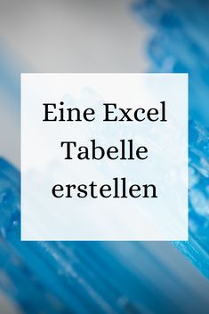 Office Wissen: Excel Office knowledge: It's easy to create an Excel spreadsheet, I'll show y Office Organization At Work, Business Organization, Diy Organization, Work Cubicle, Old Computers, Stress Management, Good To Know, About Me Blog, Knowledge