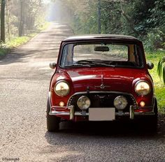 this will kill Red Mini Cooper, Mini Cooper Classic, Classic Mini, Classic Cars, Lamborghini, Ferrari, Mini Clubman, Mini Countryman, My Dream Car