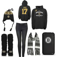 Boston Bruins Style! But with a Seguin Hoodie c: