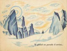 """""""Apoutsiak le petit flocon de neige"""" raconté  et illustré  par Paul-Émile Victor. Flammarion, 1948"""
