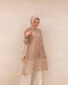 Hijab Prom Dress, Hijab Gown, Kebaya Hijab, Party Gown Dress, Kebaya Dress, Kebaya Muslim, Party Gowns, Muslim Hijab, Modern Hijab Fashion
