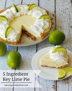5 Ingredient Key Lim