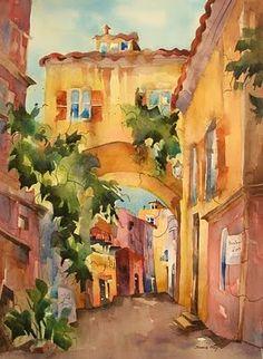 Beautiful Watercolors by Jinnie May,