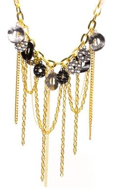Golden Anora Necklace - Project Instructions: http://www.cousin.com/Golden-Anora-Necklace-P15683.aspx
