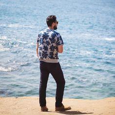 outlinedcloth:    Feeling tropical in my @toddsnyderny sweatshirt. #toddsnyderny #sponsored (at Laguna Beach California)