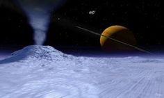 Saturn's Moon Enceladus Revealed to be a Power Generator