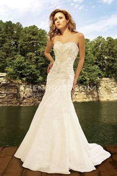 Mermaid Wedding Dressing with Sweetheart Neckline, Petite Wedding Dresses  Trendress.com Ideas for that Special Day | Big Fashion Show petite wedding dresses
