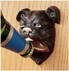 English Bulldog Bottle Opener . $14.99