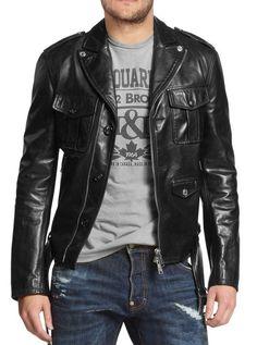 ba740475 New Arrival Men Real Lambskin Motorcycle Premium Quality Leather Biker  Jacket 52