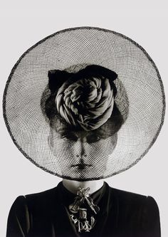 A Schiaparelli hat photographed by Erwin Blumenfeld, 1938. What't not to love? #millinery #judithm #hats