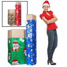 2 XL Christmas Holiday Gift Bags – For The Big Presents!