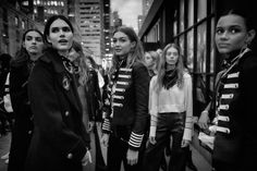 Take a look behind the scenes at #NYFW.