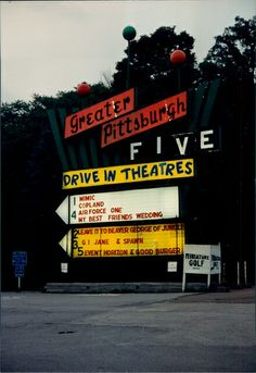 Greater Pittsburgh five Drive-in