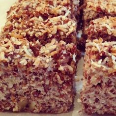 coconut quinoa loaf