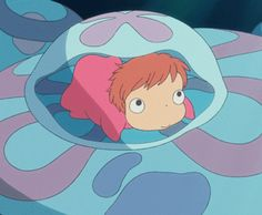 Ponyo....I will be getting this pic as a tattoo :-)   ***haha, I want this tattooed!
