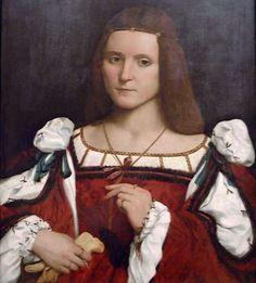 La Couturière Parisienne - Dame (evtl. Isabella d'Este), c. 1505-10