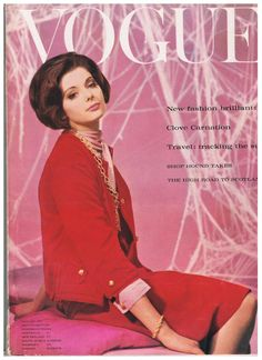 Vogue August 1st 1961 www.vintagetreasure.co.nz