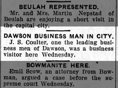 Coulter, Joseph S: Business Trip