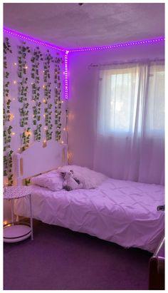Teenage Girl Bedroom Decor, Cute Bedroom Decor, Room Design Bedroom, Room Ideas Bedroom, Small Room Bedroom, Dream Teen Bedrooms, Teen Rooms, Bedroom Inspo, Small Teen Bedrooms