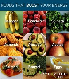 Natural Energy Boosters :-)