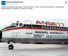 Mcdonald Douglas, Australian Airlines, Douglas Aircraft, Australia Travel, Jets, Airplanes, Melbourne, Transportation, Aviation