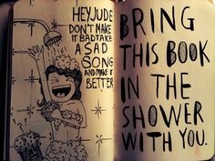 """Wreck this Journal by Keri Smith 
