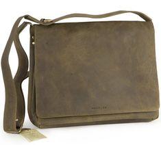 Harold's Antico Überschlagtasche grün