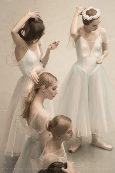 "lasylphidedubolchoi: "" Backstage at the Mariinsky Theatre after Giselle Photos by Nikolai Krusser """