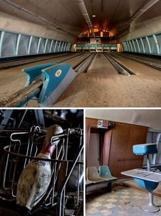 Military Base Bowling Alley in Berlin, Germany.