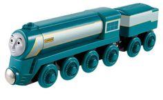 Mattel Fisher-Price Y5492 - Thomas und seine Freunde Connor - Holz Lokomotive: Amazon.de: Spielzeug