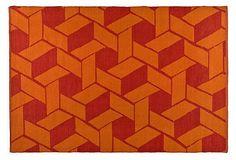 Thom Filicia Outdoor Rug, Orange on OneKingsLane.com $79-$279
