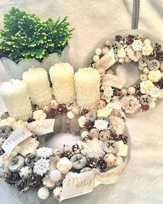 Christmas Advent Wreath, Winter Christmas, Christmas Time, Christmas Decorations, Holiday Decor, Balerina, Fairytale, Centerpieces, Floral Wreath