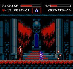 Castlevania Symphony of the Night Konami NES Pixel Art Xtreme Retro 3