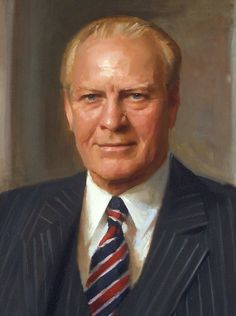 President Gerald R. Ford, National Portrait Gallery, Smithsonian Institution, Everett Raymond Kinstler