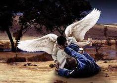 A luta do patriarca Jacó com o Anjo do Senhor ocorreu na região do vau (local em um rio, cuja profun...
