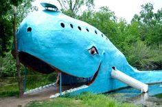 Blue Whale, Route 66 (Catoosa, OK)