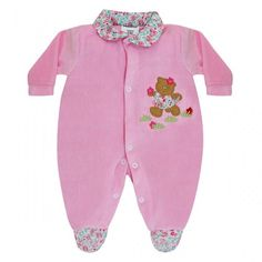 Macacão de Bebê Menina em Plush :: 764 Kids Loja Online, Roupa bebê e infantil !