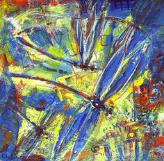 Dragonflies Art Print by Nato Gomes | Society6