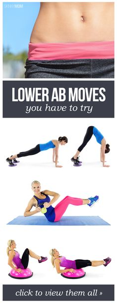 6 moves to tighten your abs!