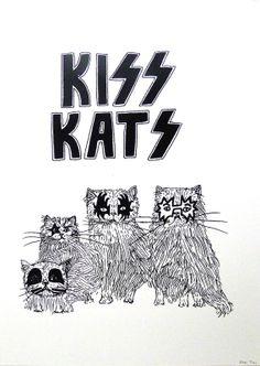 'Kiss Kats' - Hannah Prebble