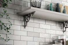 Artesano White 6.5x20cm Tiles from £0.49 - Tons of Tiles